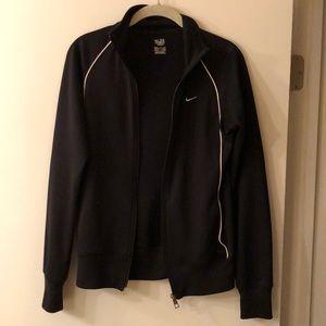 Women's black Nike zip up Small